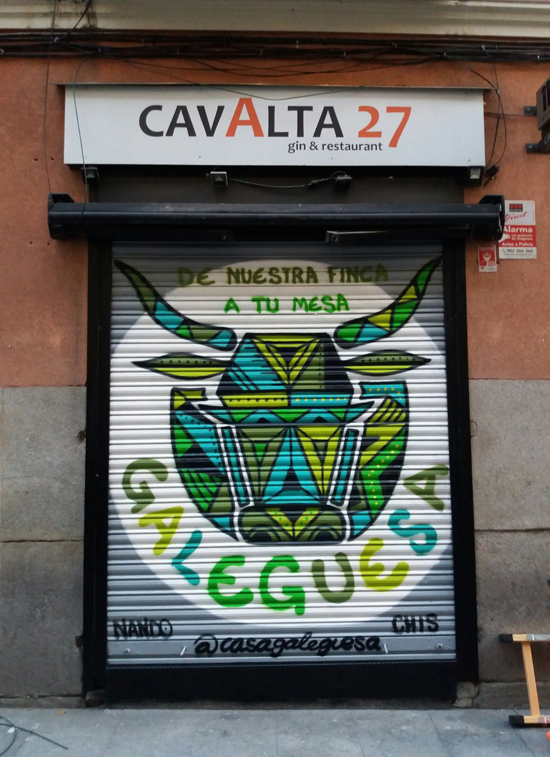 Unha enseña galega de hamburgueserías aterriza en Madrid